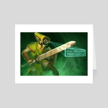 Link to the Future - Art Card by Jamie Boylan