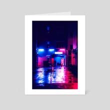 Geylang, Singapore - Art Card by H Designs
