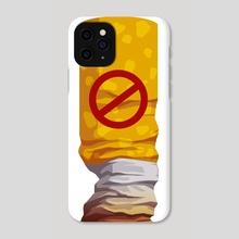 No smoking - Phone Case by Alisa Rysaeva