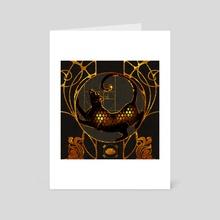 Tempus Obscura - Art Card by Simhanada Gaither