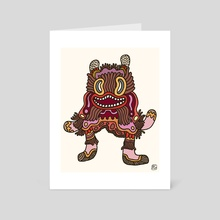 Olmeca Monster of the day (June 2) [Year 1] - Art Card by Royal Glamsters