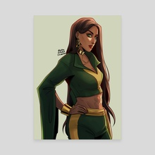 talia al ghul - Canvas by Eileen Widjaja
