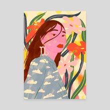 Capricorn - Canvas by Florencia Fuertes