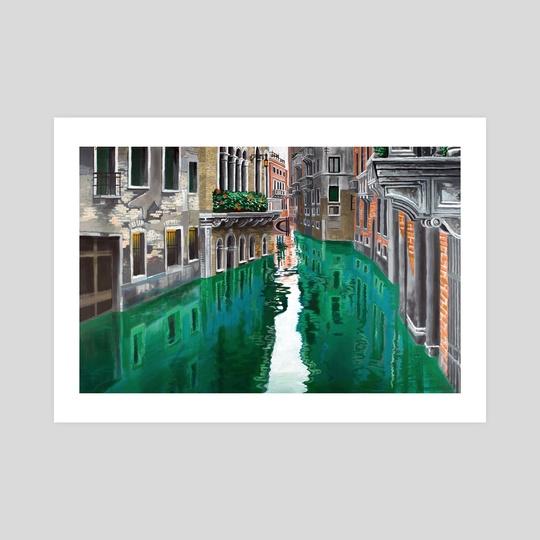 Venice, Italy by Byron Stoddard
