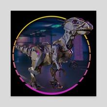 RoboRaptor - Canvas by 3DASP