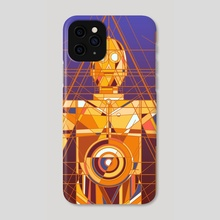 Deco Threepio - Phone Case by Josh S