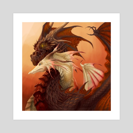 Dragons of February by Piya Wannachaiwong