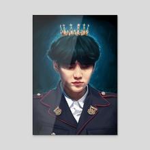 Crown - Acrylic by Seulin M.