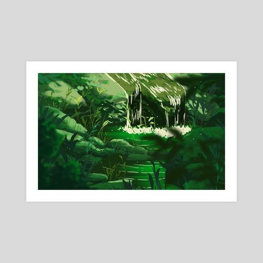 waterfall no.2 by miena