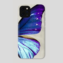 morpho 03 - Phone Case by noir blanc777