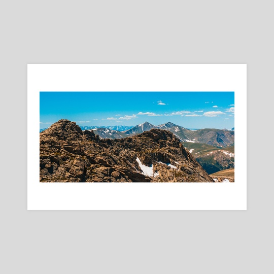 Colorado Peaks by Megan Ross