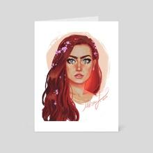 Harmony Nice - Art Card by Melissa Falconi