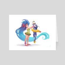 Zoe&Yuumi - Art Card by Yana Bau