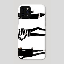 Models - Phone Case by Kemp Paik