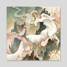 Jasmine - Acrylic by Emily Smith