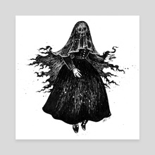 Reaper - Canvas by Esther  Coonfield
