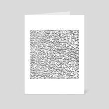 Black & White 3 - Art Card by hannzoll