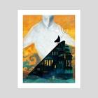 Gogmagog - Art Print by Carly A-F