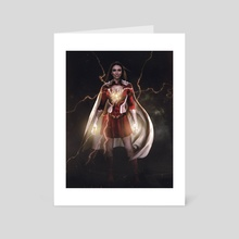 Miss Marvel - Art Card by ATLANT99