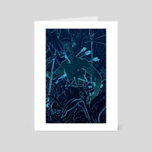 Night Hunter - Art Card by Emily Lubanko