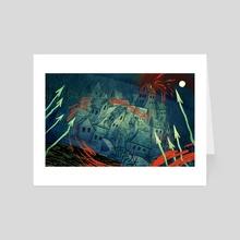 Abyssal Shores - Art Card by Alexa Sharpe