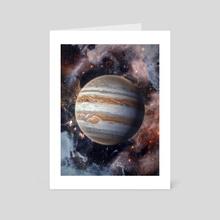 Jupiter - Art Card by Marischa Becker