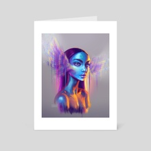 Soul takes flight - Art Card by KORA 🖤