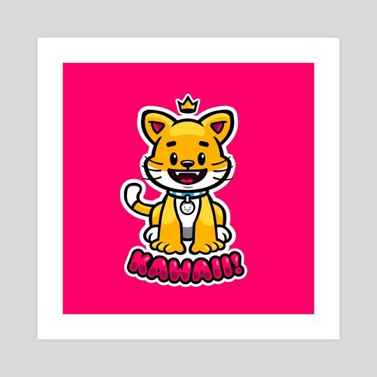 Kawaii Kitty by Crown Creative