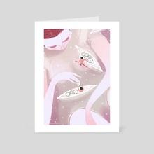 Aguas de Maio - Art Card by Ericka Lugo