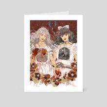 Moinica&Valerie - Art Card by Kara Xu