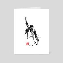freddie 06 - Art Card by philippe imbert