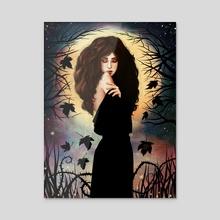 Samhain - Acrylic by Sara Pace