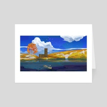 Autumn Shore - Art Card by JoJo Lu