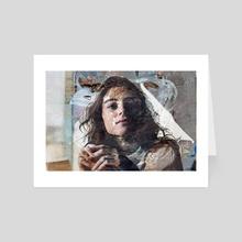 nostalgia i - Art Card by Elizabeth Hinders