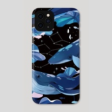 Whales - Phone Case by Natalia Toledo