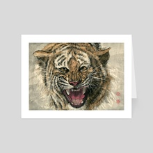 Tiger - 31 - Art Card by River Han