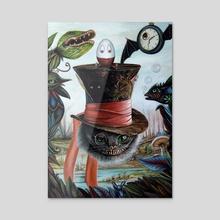 Living in a Dream - Acrylic by J.Bello Studio