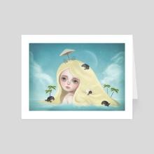 Sea Turtles - Art Card by Eda Herz