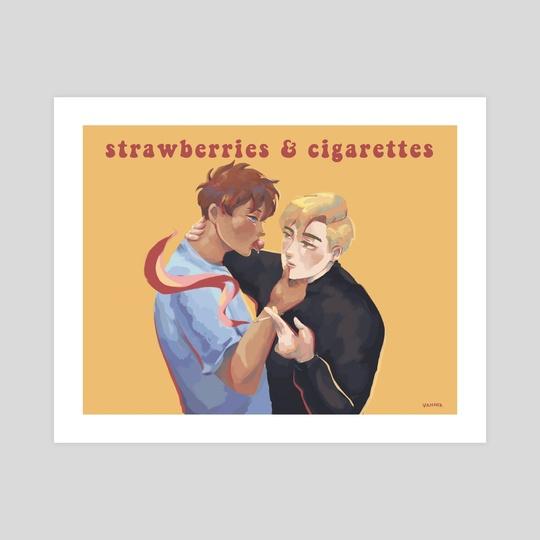 Strawberries & Cigarettes by Khanh Van Pham
