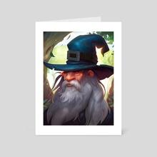 Gandalf el gris - Art Card by Daniel Orive