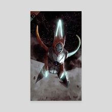 Deoxys Speed Mode - Canvas by Abel Vera