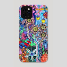 Abstract Forest - Phone Case by Olivia Hathaway