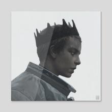 The king - Acrylic by Yuri Shwedoff