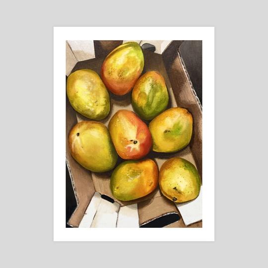 fresh mangoes by amy yang