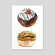 Donuts  - Acrylic by ericsondraw