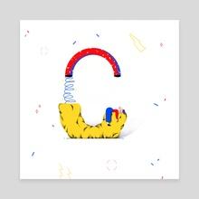 C - Canvas by Hanna Rybak