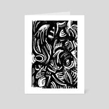 Native Dudes Yolo 37 - Art Card by Daniel Newman
