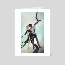 Dancing in the Sky - Art Card by Roos Plattje