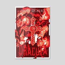 Bram Stoker's Dracula - Acrylic by Melissa Purdy