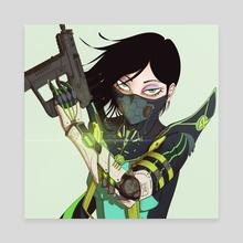 CyberViper - Canvas by Francescco .Art